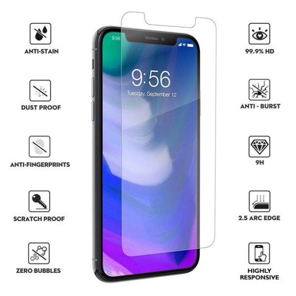 Ochranné tvrzené sklo iPhone 11 Pro Max