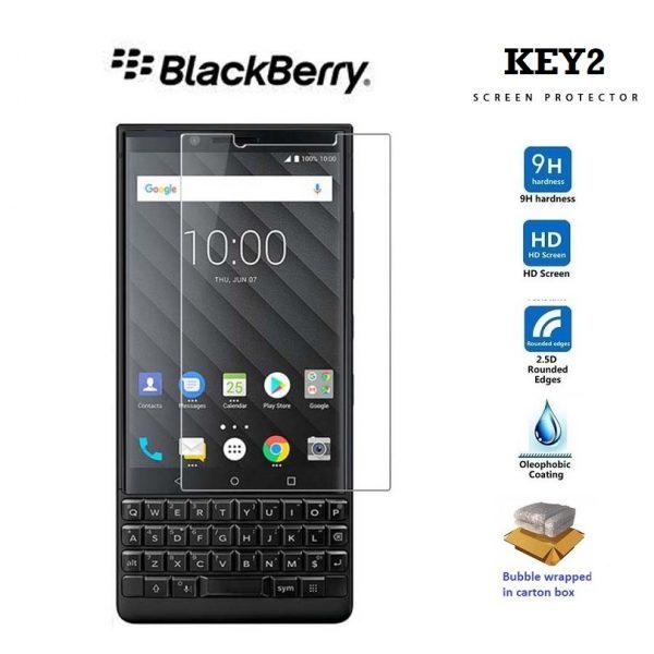 Ochranné tvrzené sklo Blackberry Key 2