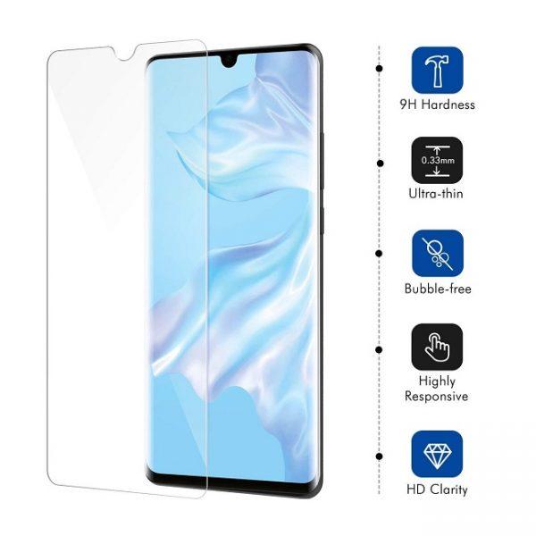 3D Ochranné tvrzené sklo Huawei P30 Pro