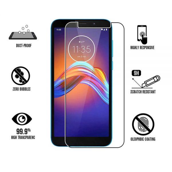 Ochranné tvrzené sklo Motorola E6 Play