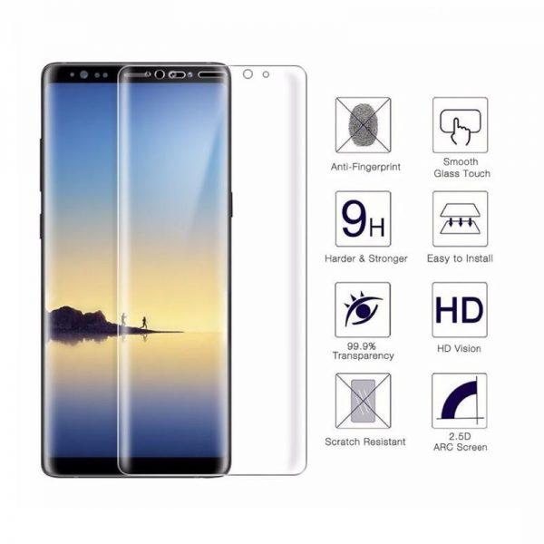 3D Ochranné tvrzené sklo Samsung Galaxy Note 9