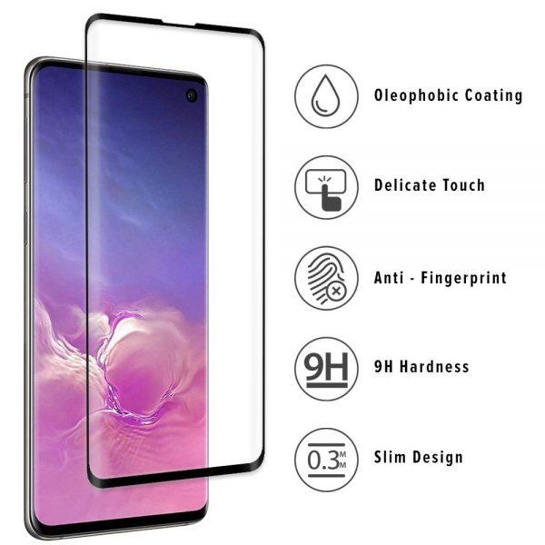 3D Ochranné tvrzené sklo Samsung Galaxy S10