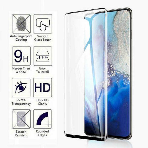 3D Ochranné tvrzené sklo Samsung Galaxy S20 Ultra