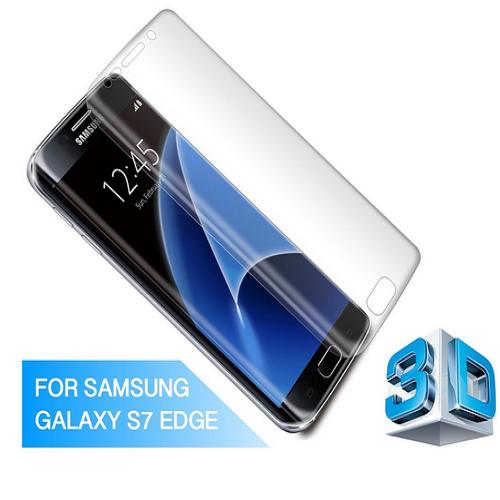 3D Ochranné tvrzené sklo Samsung Galaxy S7 Edge