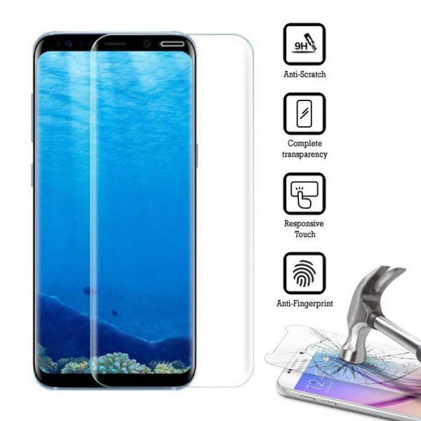 3D Ochranné tvrzené sklo Samsung Galaxy S9
