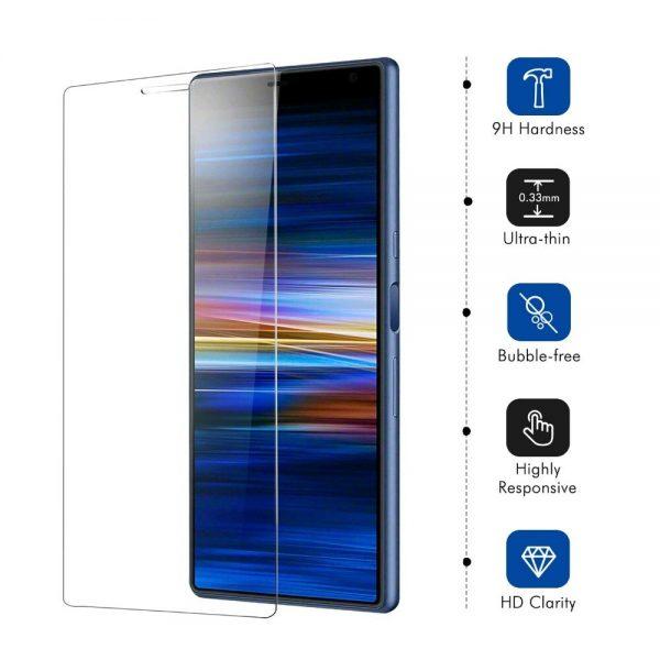 Ochranné tvrzené sklo Sony Xperia 10 Plus