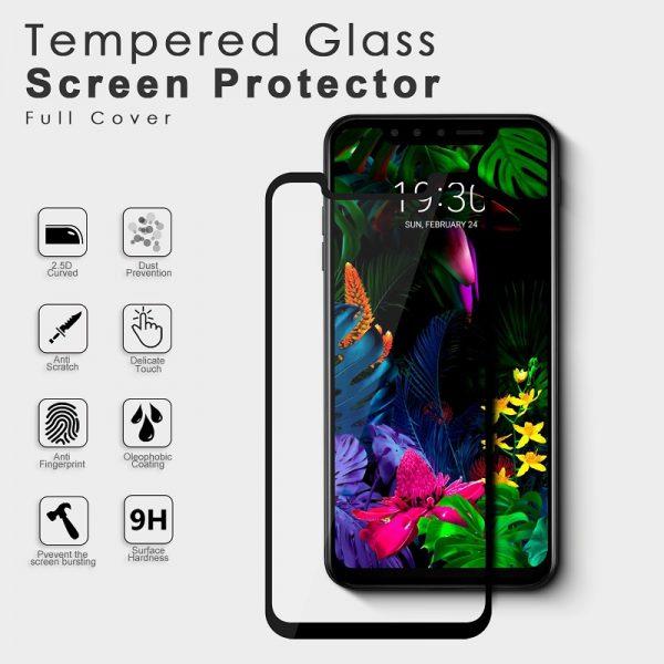 3D Ochranné tvrzené skloLG G8S