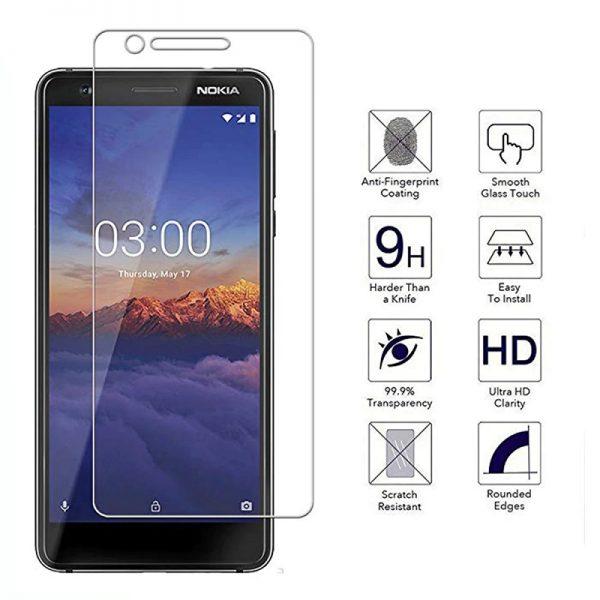 Ochranné tvrzené sklo Nokia 3.1 Plus