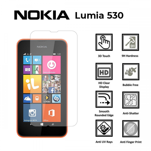 Ochranné tvrzené sklo Nokia Lumia 530