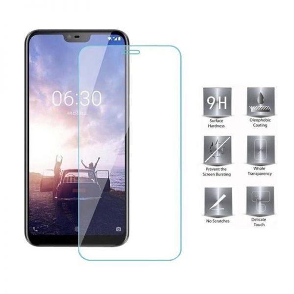 Ochranné tvrzené sklo Nokia 6.1 Plus