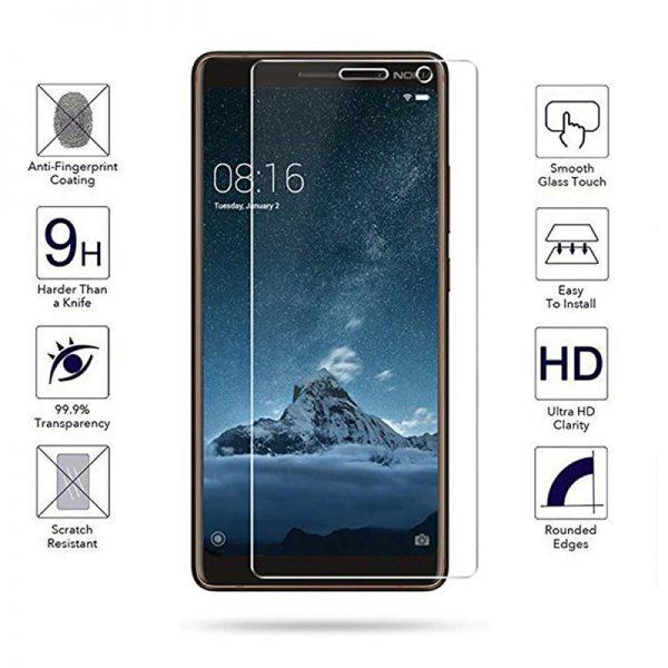Ochranné tvrzené sklo Nokia 7 Plus