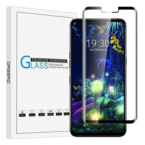 3D Ochranné tvrzené sklo LG V50