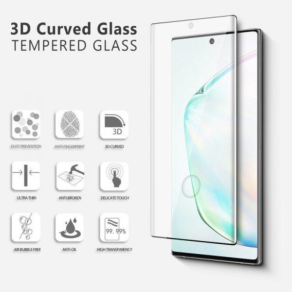 3D Ochranné tvrzené sklo Samsung Galaxy Note 20 Ultra