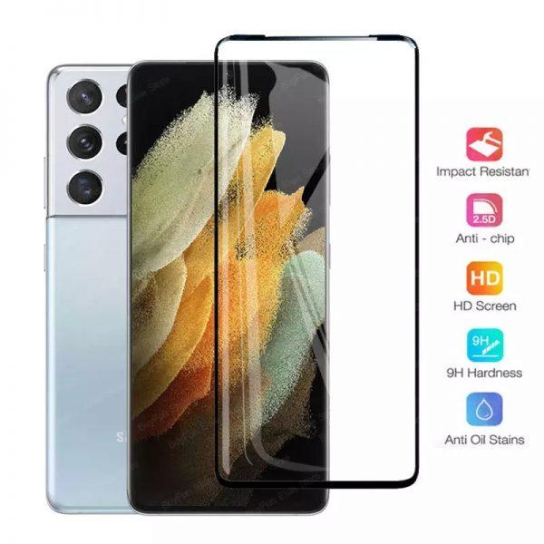 Ochranné tvrzené sklo Samsung Galaxy S21 Ultra
