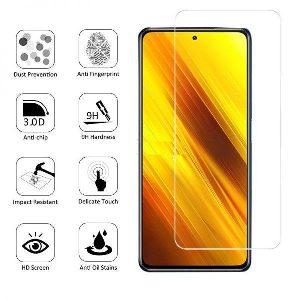 Ochranné tvrzené sklo Xiaomi Popo X3